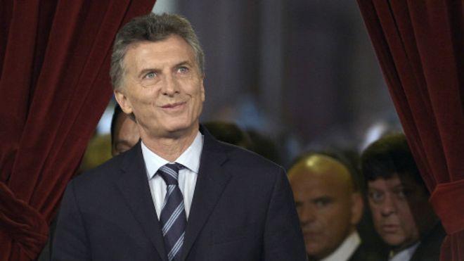 巴拿马文件:阿根廷总统马克里面临调查