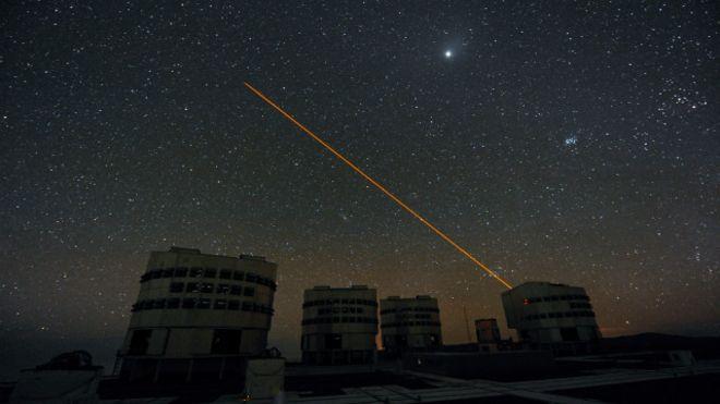 Pesquisadores acreditam que usando lasers pode esconder a terra dos alienigenas