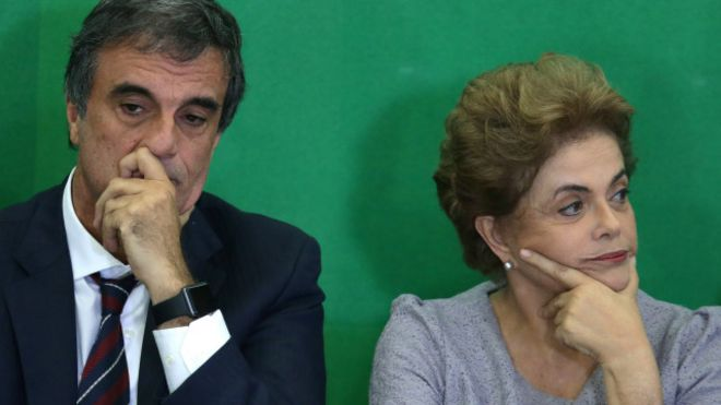 Resultado de imagem para Dilma e Cardoso