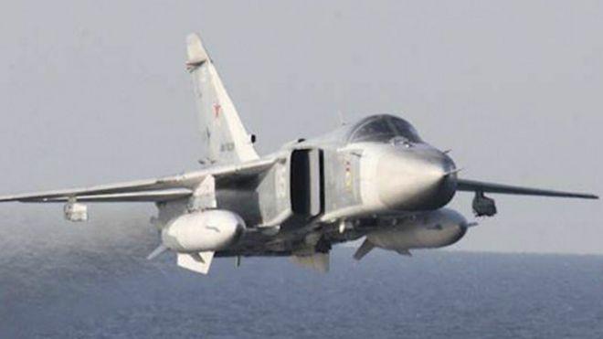 Un avión Sukhoi