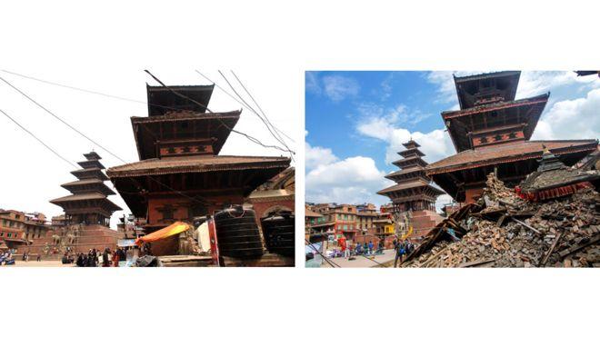 храм в Таумадхи, Bharat Bandhu Thapa