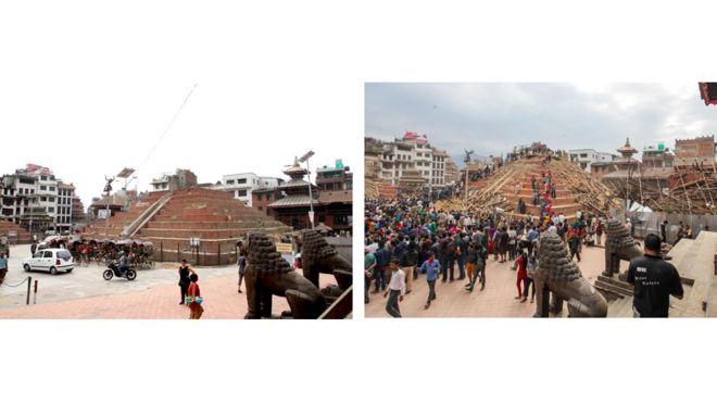 храм Маджу, Bharat Bandhu Thapa