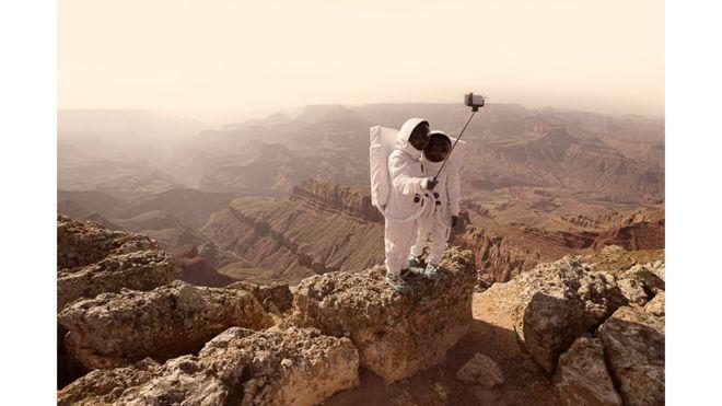 """Serie """"Saludos desde Marte"""""""
