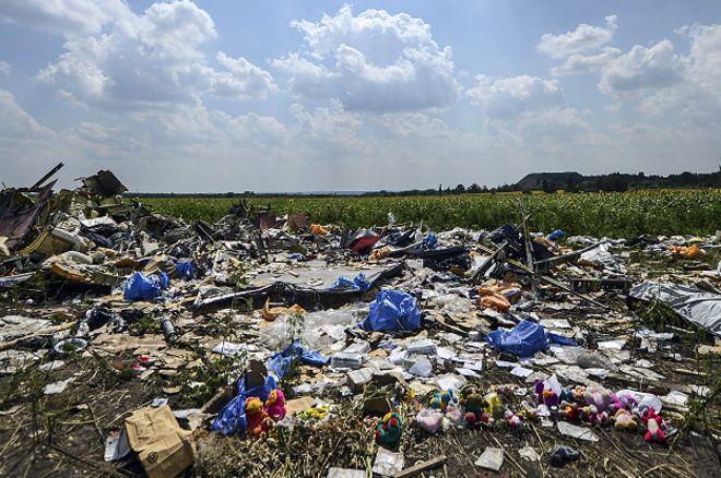 В небе над Донбассом погибли 80 детей из разных стран
