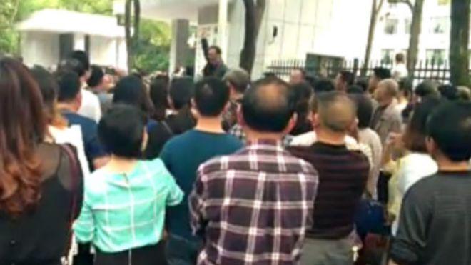 湖南衡陽千餘教師討薪 政府回應存爭議