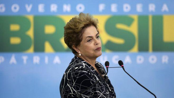 """El """"impeachment"""" a Dilma Rousseff enfrenta a los presidentes del Senado y la Cámara de Diputados en Brasil"""