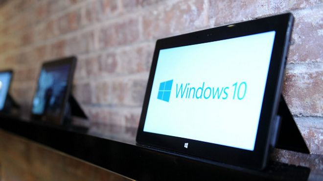 Tableta de Windows 10
