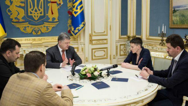 Можем рассчитывать навозвращение еще 2 украинцев изРФ— Порошенко