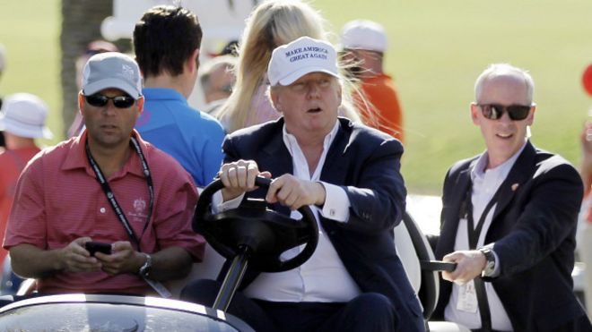 Trump en Doral