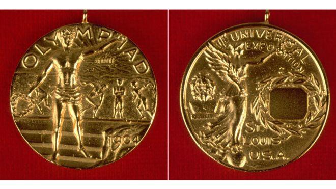 الميدالية الأولمبية عام 1904