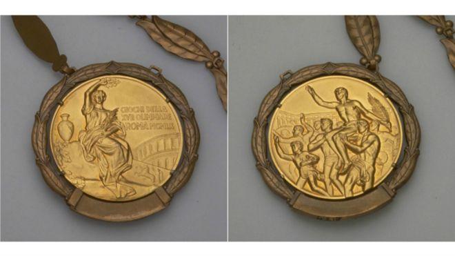 الميدالية الأوليمبية عام 1960