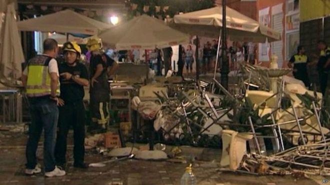 西班牙南部发生气体爆炸 据报多达70多人伤