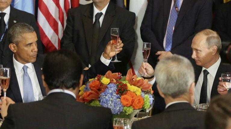Обама та Путін