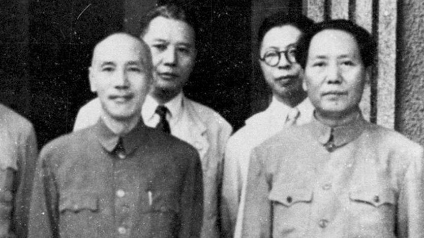 Chiang Kai-shek y Mao