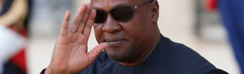 John Mahama, président du Ghana