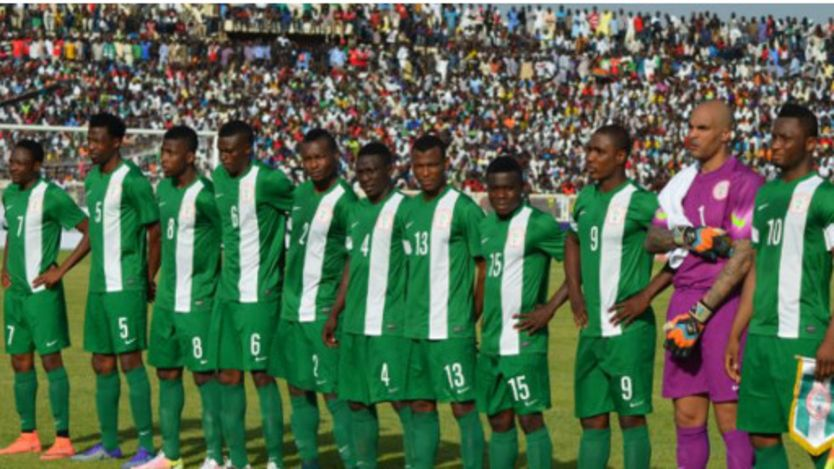 Les joueurs de football nigérians