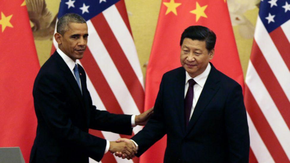 Obama y Xi Jinping durante un encuentro en China, el año pasado.