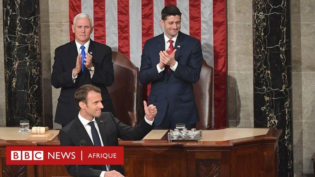 Standing ovation pour Macron au Capitole