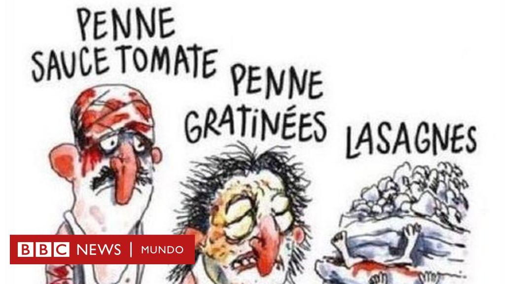 """""""Macabras, sin sentido"""": la denuncia contra las caricaturas de Charlie Hebdo presentada por Amatrice, el pueblo más afectado por el terremoto de agosto en Italia"""