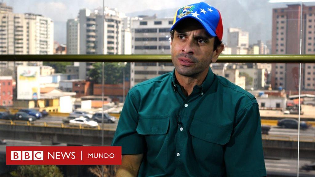 bbc.com - Entrevista a Henrique Capriles: 'En Venezuela no hay una confrontación entre pueblo y pueblo' - BBC Mundo