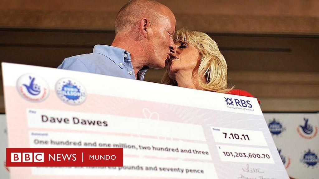 El joven británico de 32 años que demandó a su padre porque no quiso darle más dinero del premio de la lotería