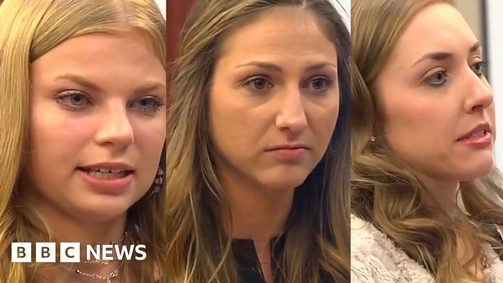 Nearly 100 women face the man who abused them