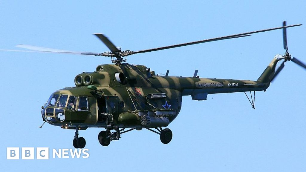 Chechnya helicopter crash kills at least seven