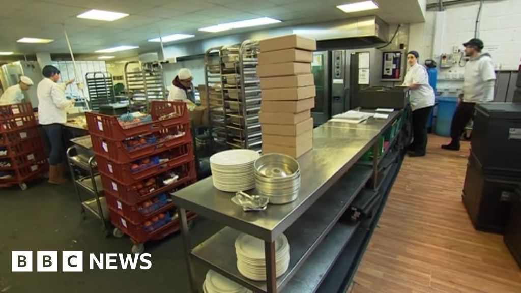 Uneaten school dinners given to homeless