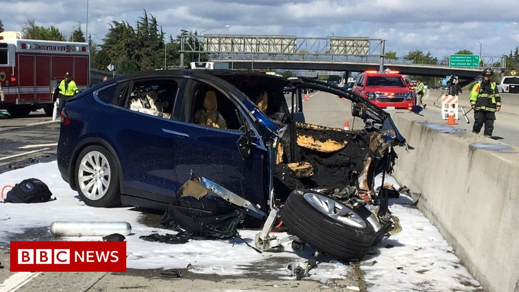 Tesla in fatal California crash was on Autopilot