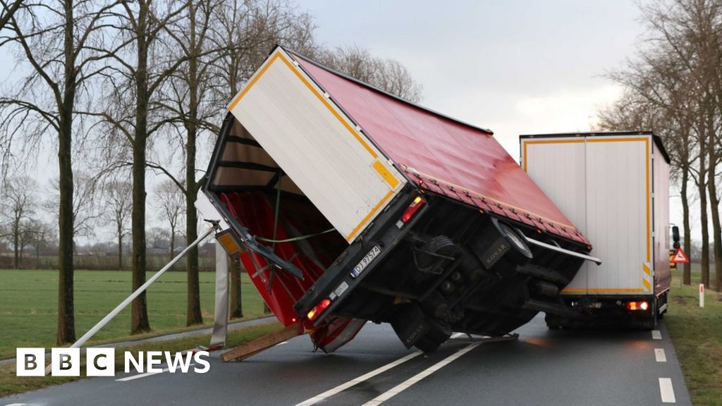 Deadly storm hits Netherlands and Germany