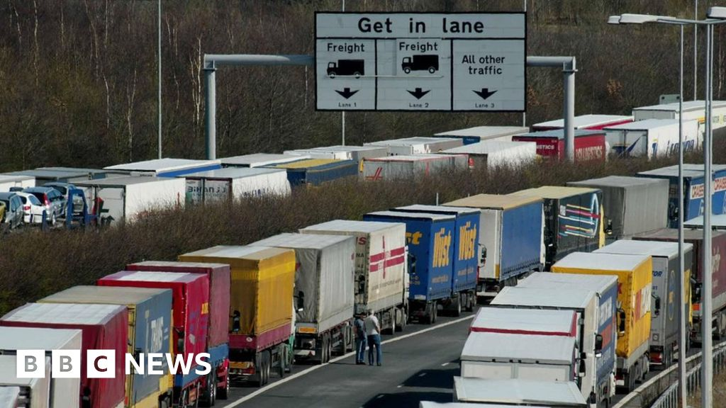 Post-Brexit border checks 'may triple queues' to port