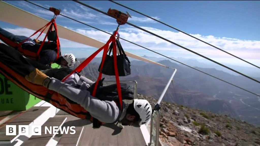 Wiring Harness Company In Uae : World s longest zip wire opens in the uae bbc news