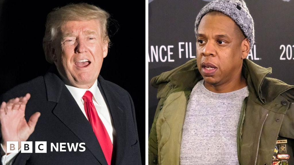 President Trump hits back at Jay-Z over 'superbug ...