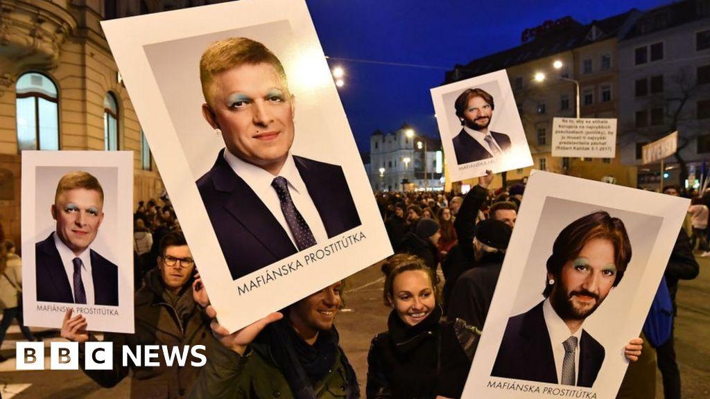 Slovakia journalist murder: Interior minister resigns