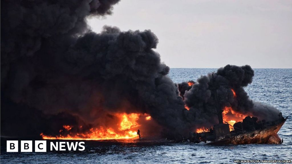 'Fishing continued' at China oil spill site