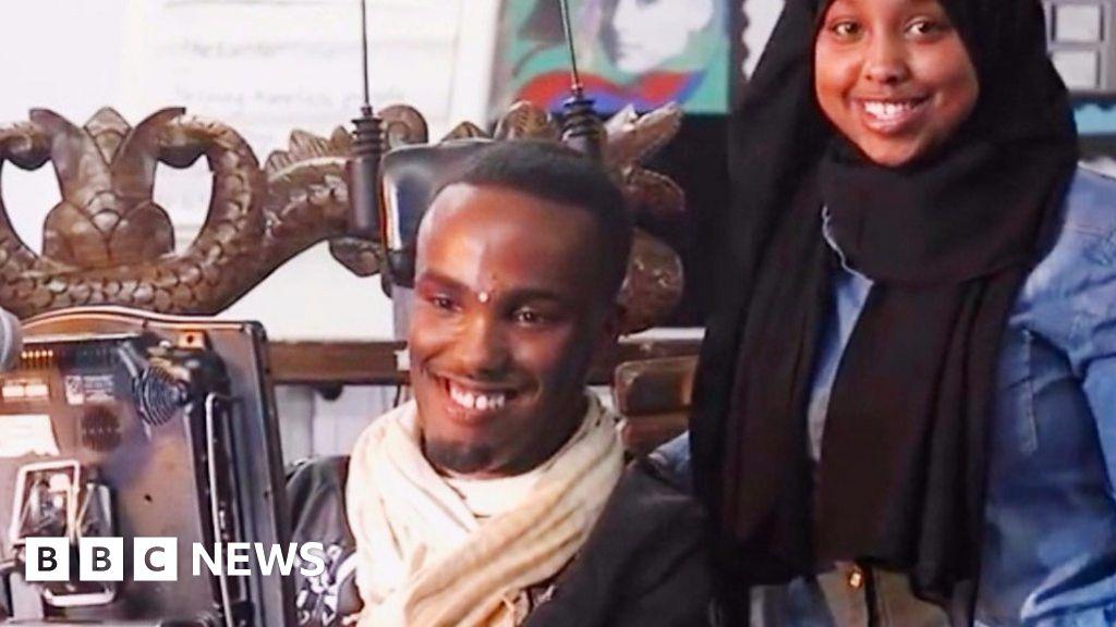 Cerebral palsy is my motivation, says Somali YouTuber Abdi Omar