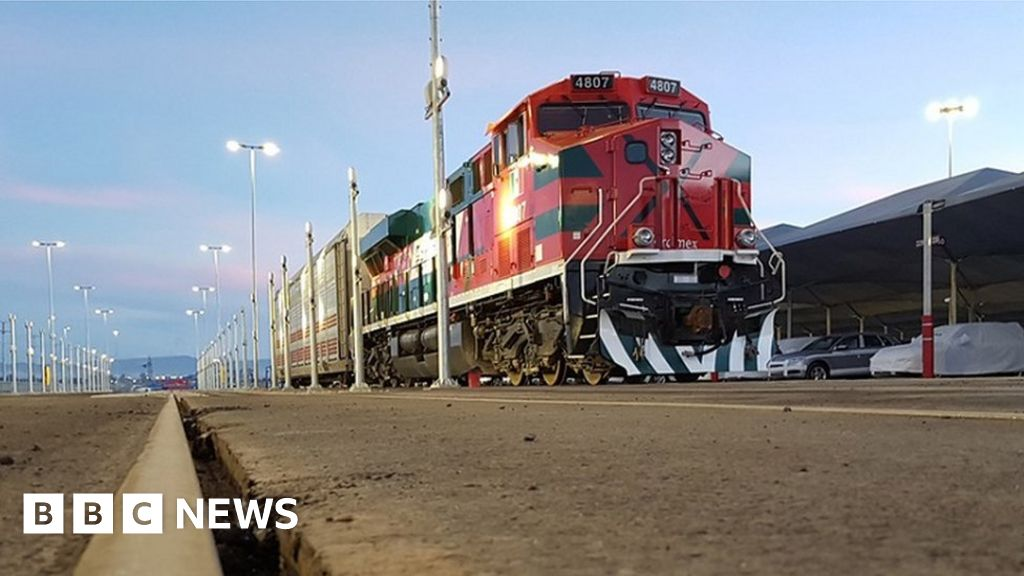 Alstom testing automated freight train