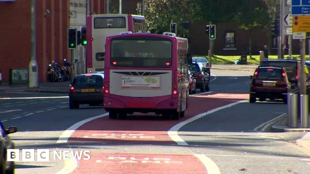belfast bus lanes plan to extend times on busy routes. Black Bedroom Furniture Sets. Home Design Ideas