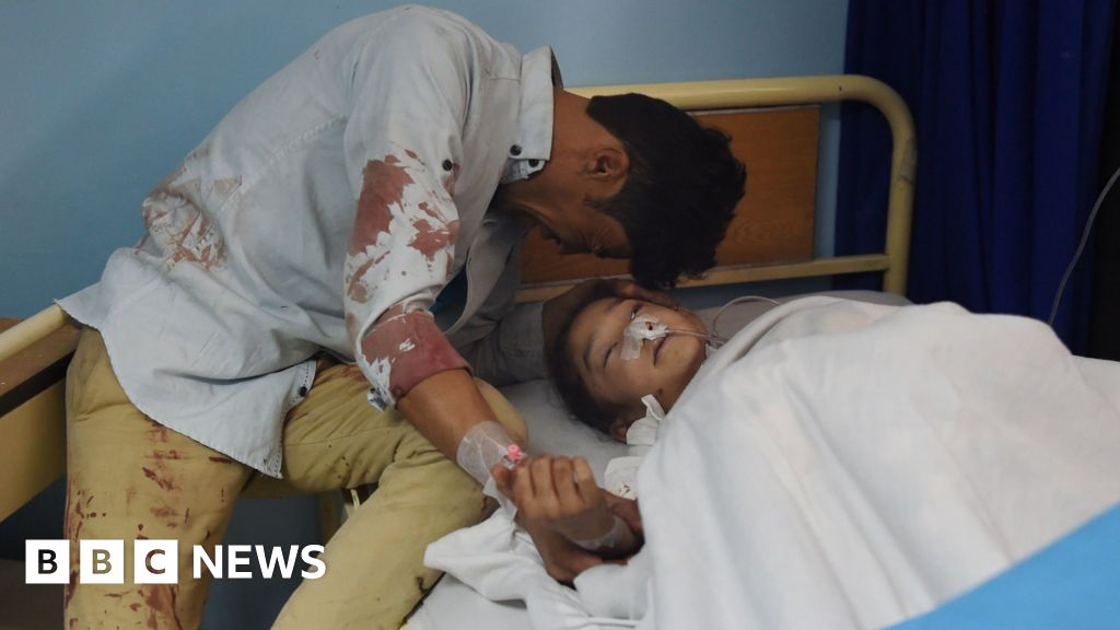 Afghanistan: Kabul voter centre suicide attack kills 57