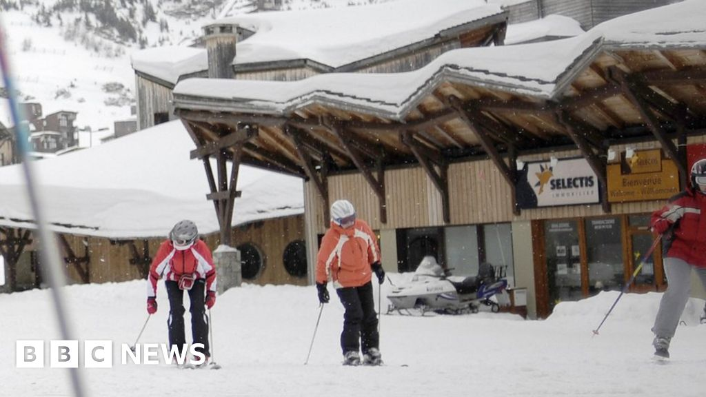 Boy, 12, dies after falling from cliff in French ski resort of Avoriaz