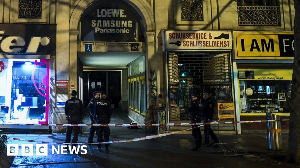 Austria attack: Four hurt in mystery stabbings in Vienna