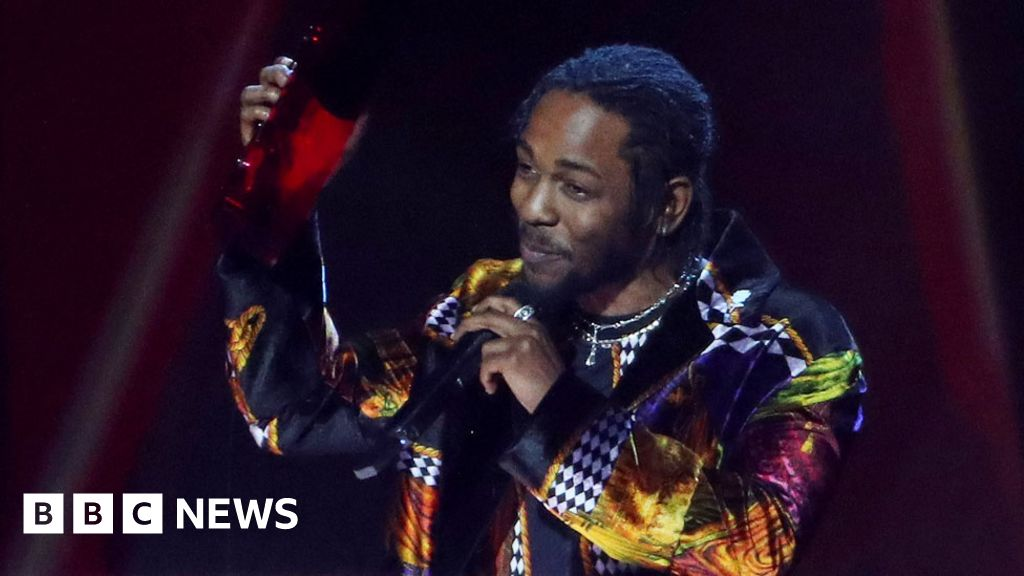 Kendrick Lamar's drug lyrics muted at Brits