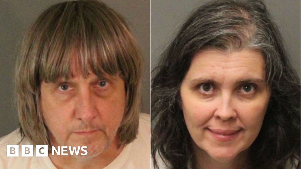 Shackled siblings found in California home