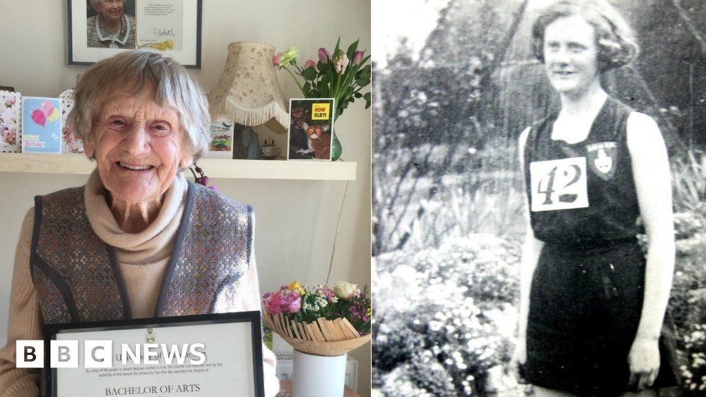 Woman, 101, given Manchester University degree certificate after 80-year wait