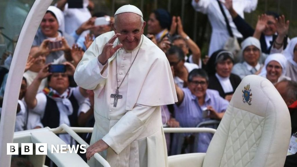 Pope Francis arrives in crisis-hit Peru