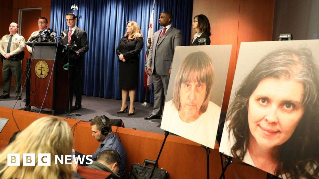 Turpin case: California children 'chained for months'
