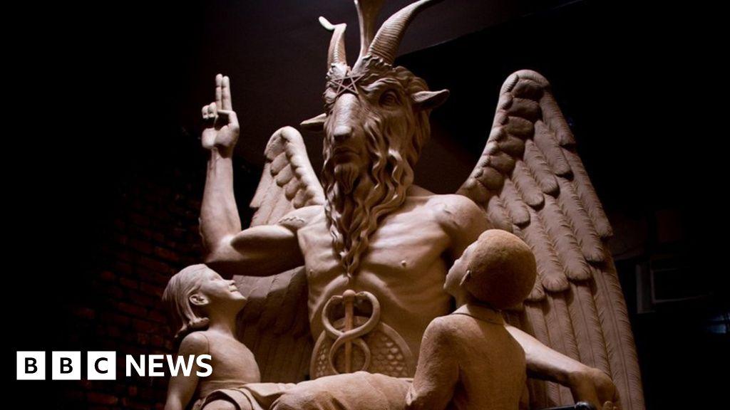 Decoding the symbols on satans statue bbc news malvernweather Gallery