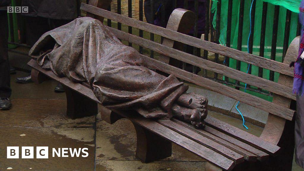 Homeless Jesus In Glasgow Bbc News