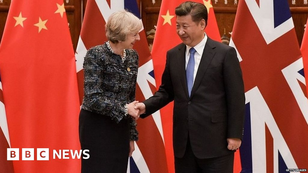 May heads to China to boost trade ties