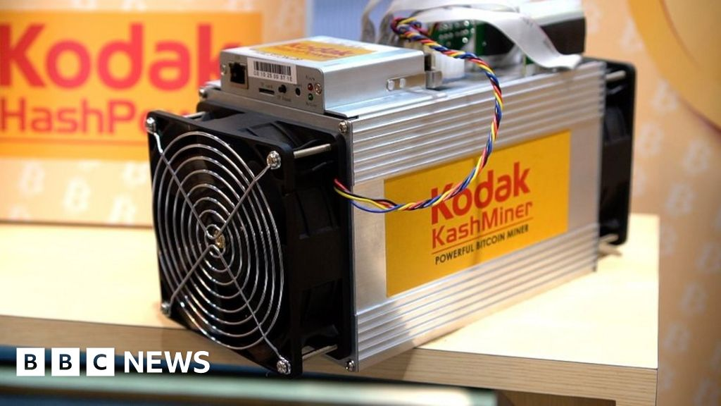 Kodak soars on crypto-currency plans